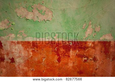 Grunge Painted Wall