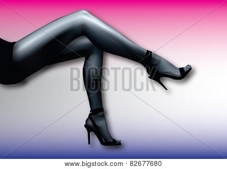 Foot sexy girl