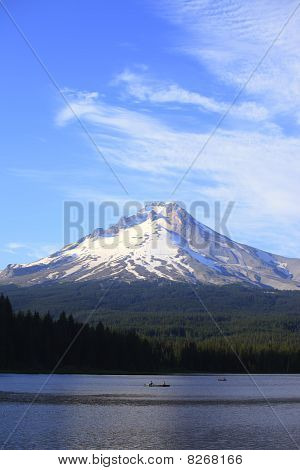 Mt. Hood & Trillium lake, Oregon.