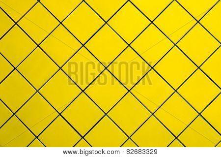 Yellow Tile Wall