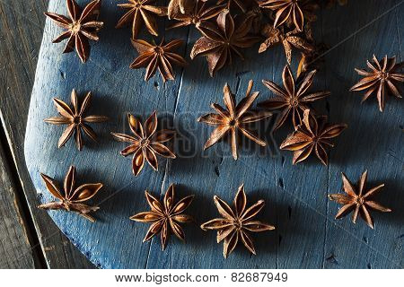 Organic Dry Star Of Anise