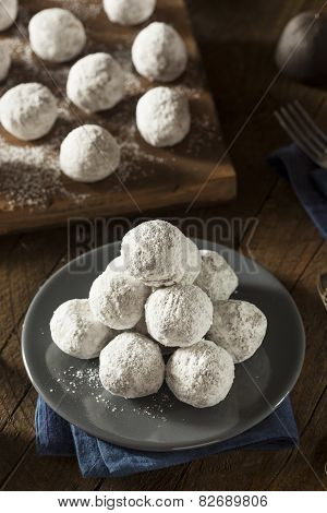 Homemade Sugary Donut Holes