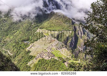 Machu Picchu, Peru - view from Huayana Picchu