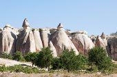 image of chimney rock  - Rock formation at G - JPG