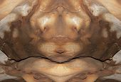 pic of wraith  - Abstract image of the monster from stone  - JPG