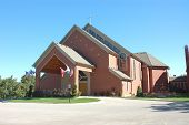 stock photo of deacon  - Our Lady of the Mother Roman Catholic Church located on South Archer Ave in Willow Springs - JPG