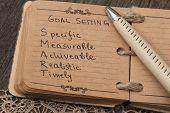 image of goal setting  - Goals Definition - JPG