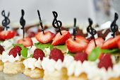 stock photo of catering service  - Close - JPG