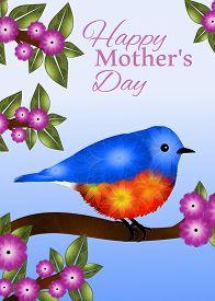 pic of bluebird  - Mother - JPG