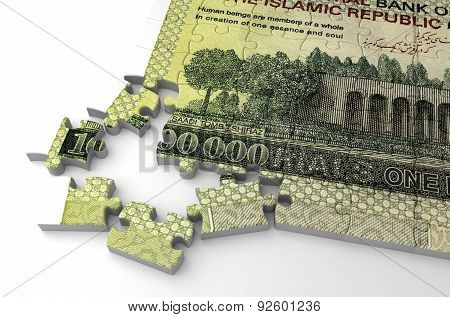 Iranian Rial Puzzle