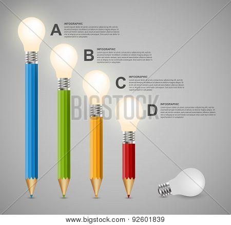 Education Infographics Design Template.