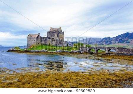 Eilean Donan Castle In Scotland, Uk