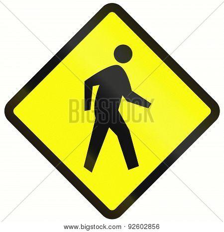 Pedestrian Crossing In Indonesia