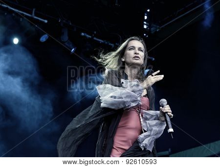 Sigrid Hausen of Qntal at Zita Rock Fest 2011