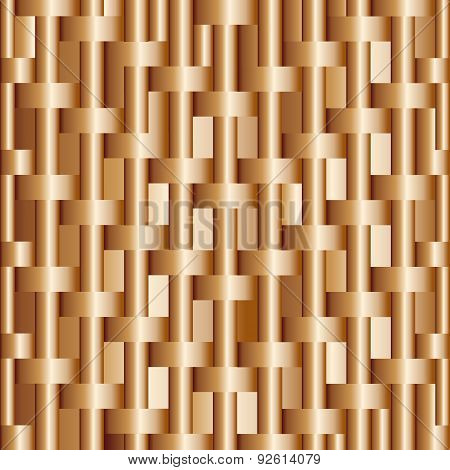 Abstract Background With Bronze Bars