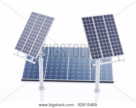 3D Solar Panel, Alternative Energy.