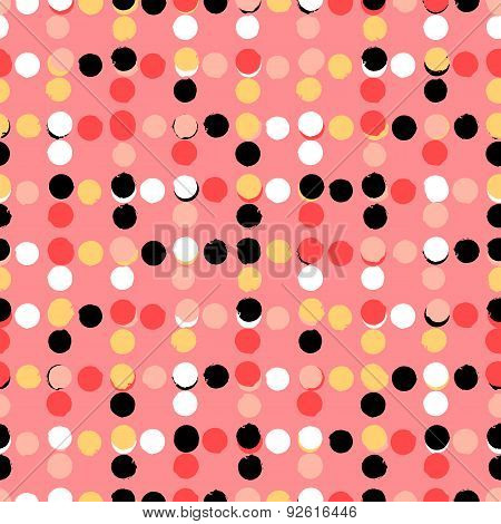Polka dot pattern