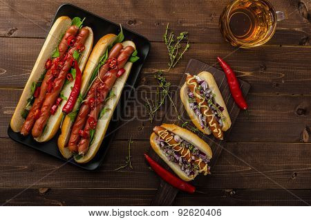 All Beef Dogs Variations