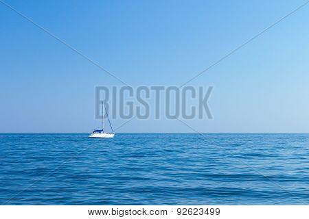 Boat In The Black Sea