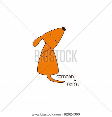 Foxy Dog Logo Template