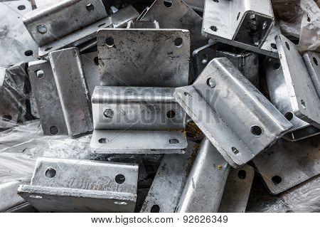 Closeup Of Metal Parts
