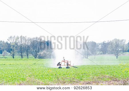 Water Irrigation Sprinklers, Field Vegetables