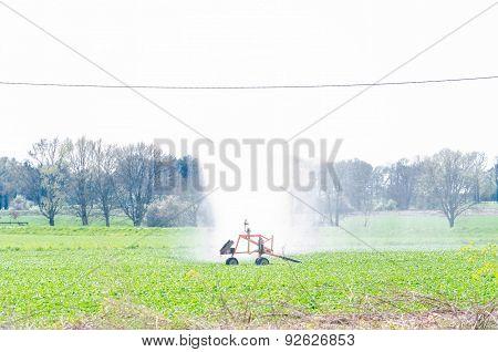 Water Irrigation Sprinklers, Field Vegetables