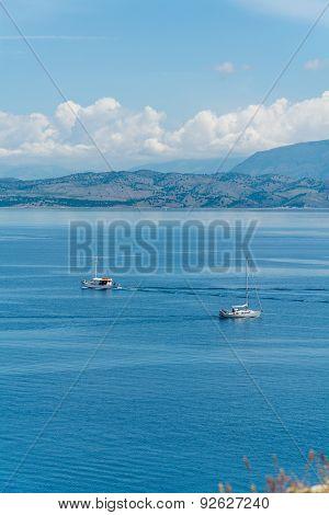 Sailing In Corfu,greece