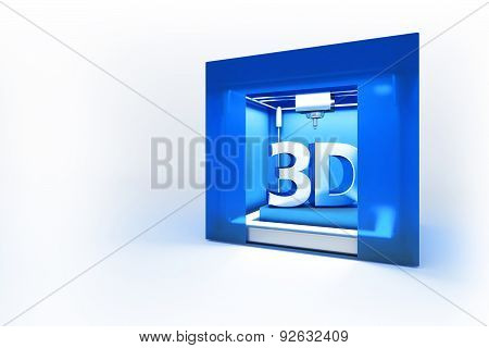 Electronic Three Dimensional Printer