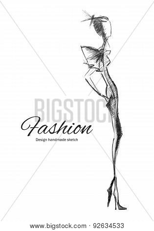 Vector Model Fashion