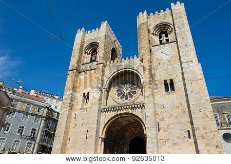 Santa Maria Maior Cathedral Lisbon, Portugal