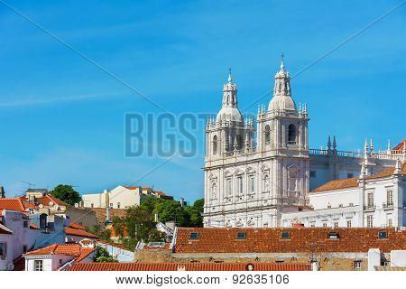 Lisbon Saint Vicente De Fora Monastery, Portugal