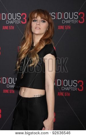 LOS ANGELES - JUN 4:  Aubrey Peeples at the