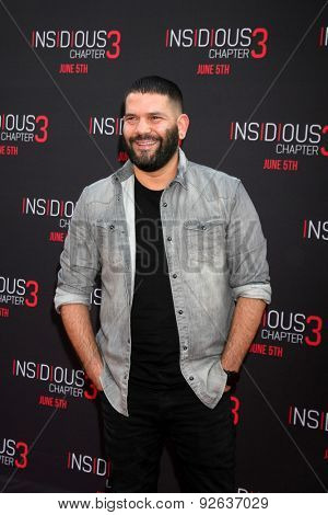 LOS ANGELES - JUN 4:  Guillermo Diaz at the