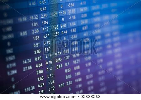 Stock Market Number