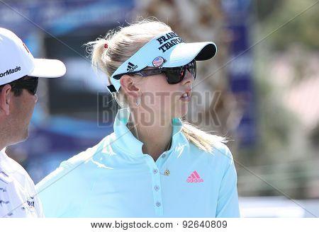 Jessica Korda At The Ana Inspiration Golf Tournament 2015