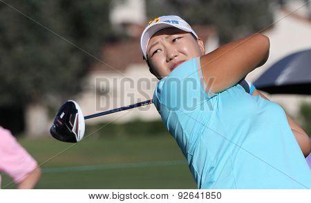 Mirim Lee At The Ana Inspiration Golf Tournament 2015