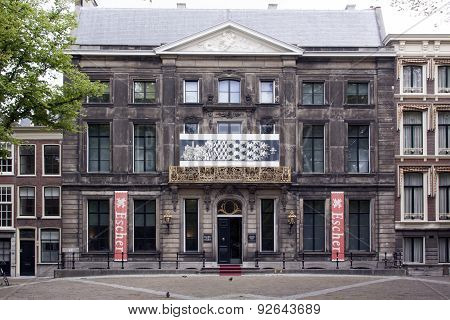 Escher Museum At The Lange Voorhout In The Hague