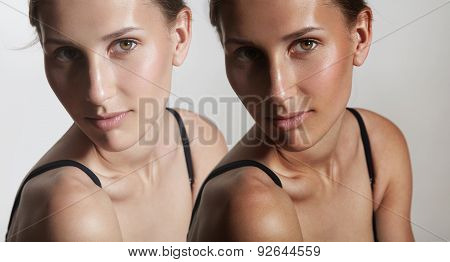 Concept Of Skin Bronzing, Sun Tan