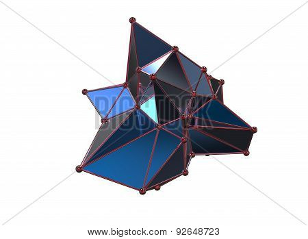 Plexus Style Abstract Model