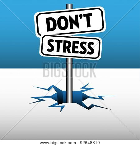 Do not stress plates