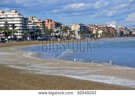 Skyline Beach City Spain