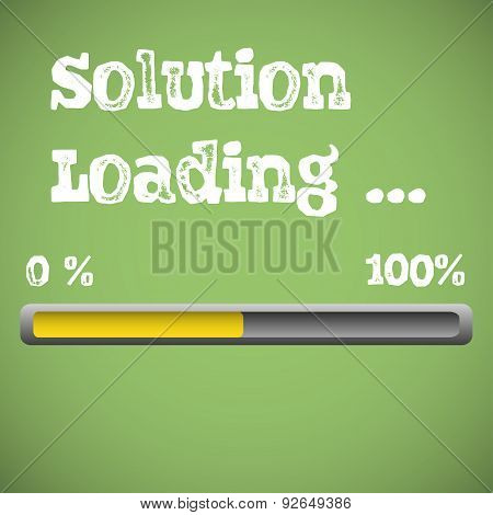 Solution loading