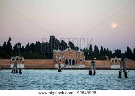 Sea And Land In Venice