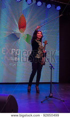Violin Concert At Kazakhstan Pavilion, Expo 2015 In Milan
