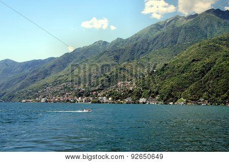 On the Lake Maggiore in Switzerland