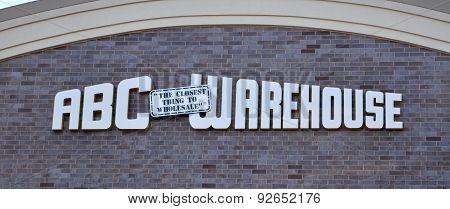 ABC Warehouse Store Logo