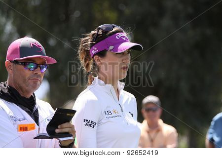 Sandra Gal At The Ana Inspiration Golf Tournament 2015