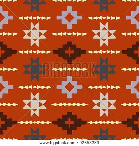 Navajo tribal ornament.