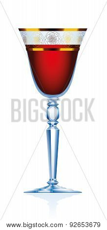 Red Wine Claret Glass